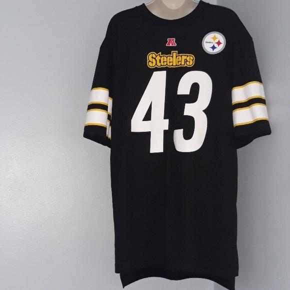 big sale 6b22e 47226 NFL Pittsburgh Steelers Polamalu 43 Jersey Shirt